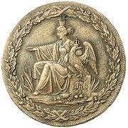 5 pfennige Friedrich Wilhelm III – avers
