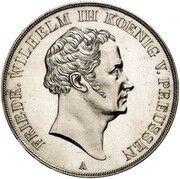 2 thaler / 3½ gulden Friedrich Wilhelm III (Essai) – avers