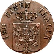 3 pfenninge - Friedrich Wilhelm III -  avers