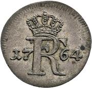 4 pfennig Friedrich II. – avers