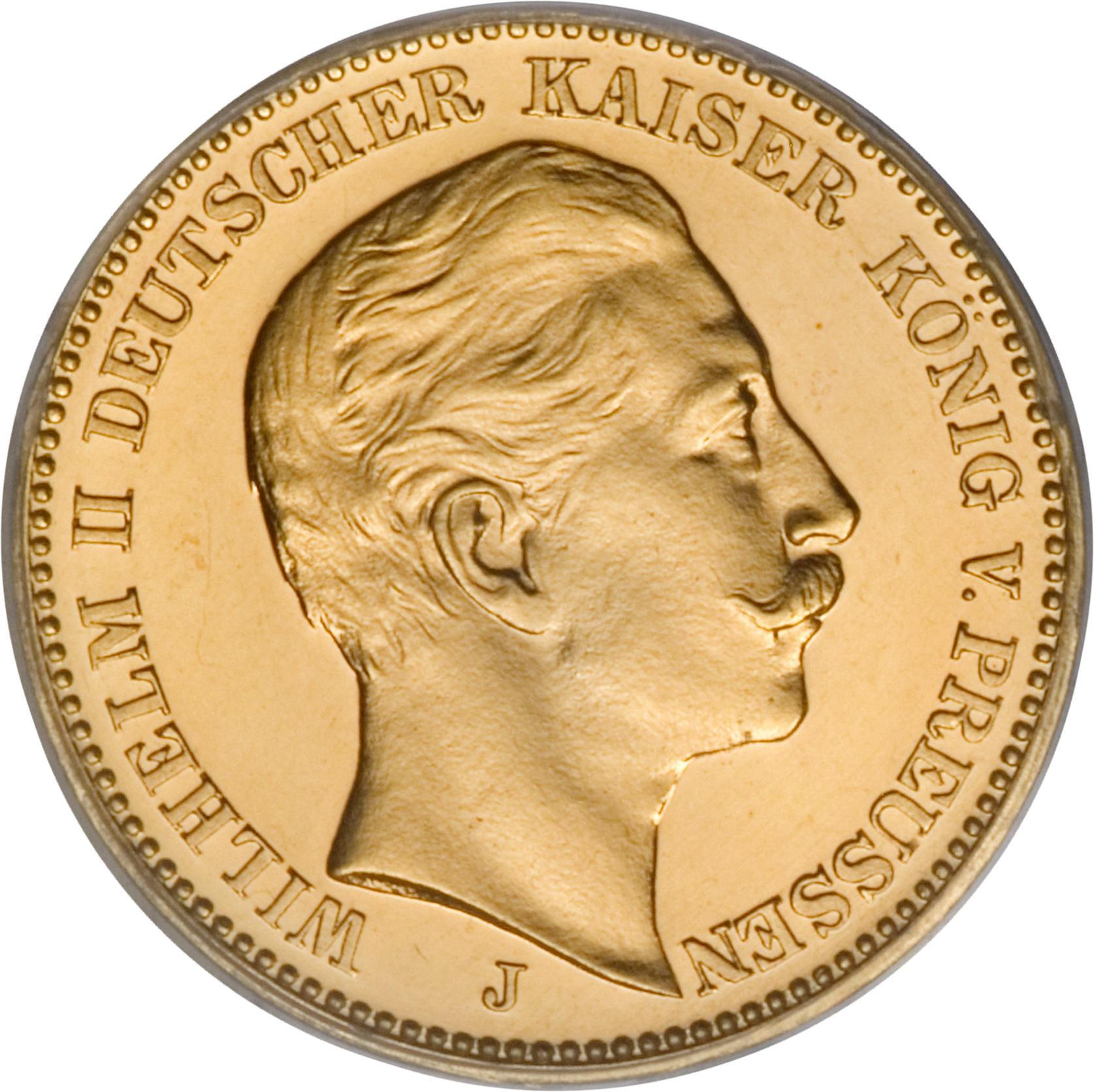 20 Mark Wilhelm Ii Royaume De Prusse Numista