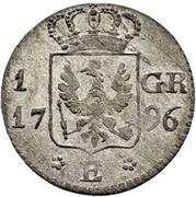 1 groschen Friedrich Wilhelm III. – revers