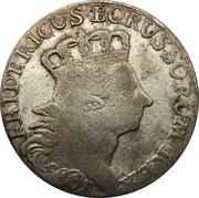 18 gröscher - Friedrich II – avers