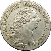 ⅓ reichsthaler - Friedrich II – avers