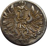 6 pfennig - Friedrich I – avers