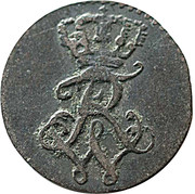 1 gröschel  - Friedrich Wilhelm III – avers