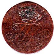 1 pfennig - Friedrich Wilhelm II – avers