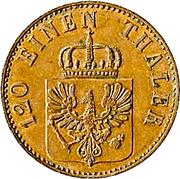 3 pfenninge - Friedrich Wilhelm IV – avers