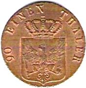 4 pfenninge - Friedrich Wilhelm III -  avers