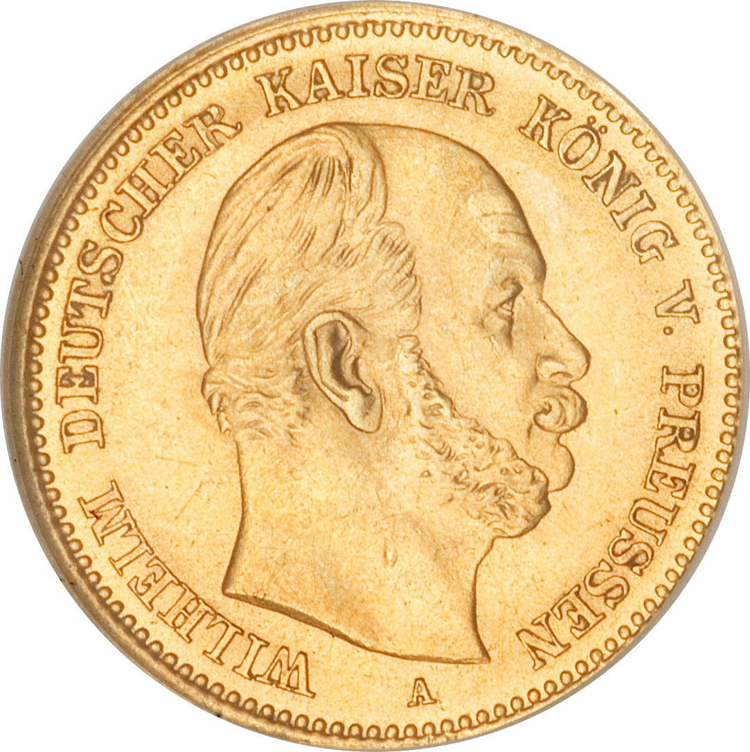 5 Mark Wilhelm I Royaume De Prusse Numista