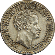 1 silbergroschen - Friedrich Wilhelm III – avers