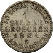 1 silbergroschen - Friedrich Wilhelm III – revers