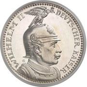 5 Mark - Guillaume III – avers