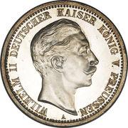 2 Mark - Wilhelm II – avers