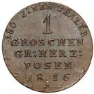 1 grosz (Grande principauté de Poznan) – revers