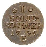 Solidus-Prusse méridionale – revers