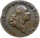 1 grossus - Friedrich Wilhelm II – avers