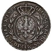 3 Grossus - Friedrich Wilhelm II (type 2 legend Ag) – revers