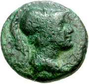 Dichalkon (Psophis) – avers