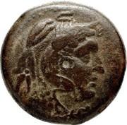 Chalque de Ptolémée IV Philopator – avers