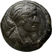 Octochalque de Cléopâtre VII Théa Philopator – avers