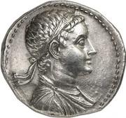 Tétradrachme de Ptolémée V – avers