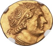 Staer - Ptolemy I Soter as King – avers