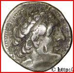 Tétradrachme de Ptolémée II Philadelphe – avers