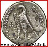 Tétradrachme de Ptolémée II Philadelphe – revers