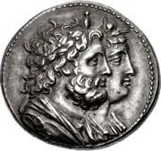 Tetradrachm - Ptolemy IV Philopator (Battle of Raphia) – avers