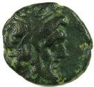 Hémichalque de Ptolémée VI – avers