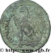 Chalque -  Ptolémée II Philadelphe (Avec Alexandre le Grand) – revers