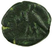 Hémichalque de Ptolémée VI – revers