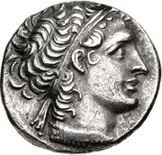 Tétradrachme de Ptolémée XII Aulète -  avers