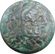 Chalque Ptolémée III Evergète – avers