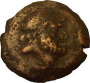 Chalque de Ptolémée XII Aulète – avers