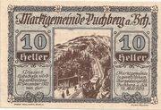 10 Heller (Puchberg am Schneeberg) – avers