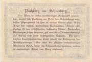 10 Heller (Puchberg am Schneeberg) – revers