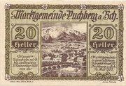 20 Heller (Puchberg am Schneeberg) – avers