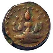 1 Amman Cash (Pudukottai) – avers
