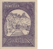 20 Heller (Pürnstein) – avers