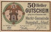50 Heller (Purgstall) – avers