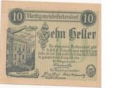 10 Heller (Purkersdorf) – avers