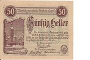 50 Heller (Purkersdorf) – avers