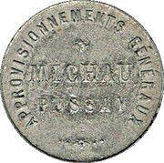 1 Franc -  Approvisionnements Généraux - Pussay (91) – avers