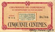 50 centimes - Chambre de commerce du Puy de Dôme [63] – avers