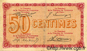 50 centimes - Chambre de commerce du Puy de Dôme [63] – revers