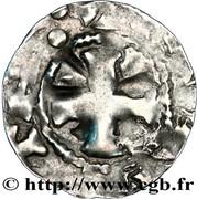 Denier anonyme de l'évêché du Puy (X°-XII° S.) – avers