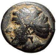 Bronze Æ11 (Pyrrha) – avers