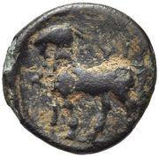 Bronze Æ11 (Pyrrha) – revers